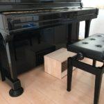 ピアノ補助台(足台)自作