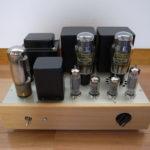 自作真空管アンプ(2A3シングルパワーアンプ)